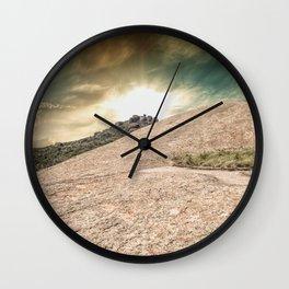 Mountain Big Rock Wall Clock