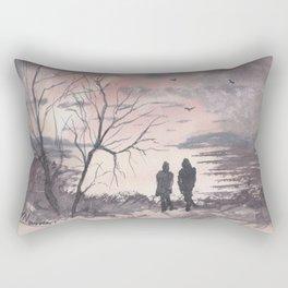A Time To Reflect Rectangular Pillow
