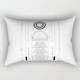 cirquit blank Rectangular Pillow