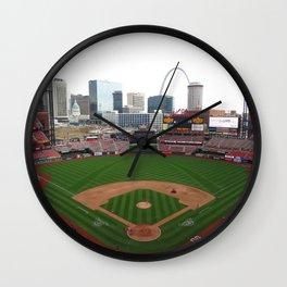 Busch Stadium Wall Clock