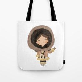 Cute eskimo Tote Bag
