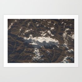 Peruvian Andes Art Print
