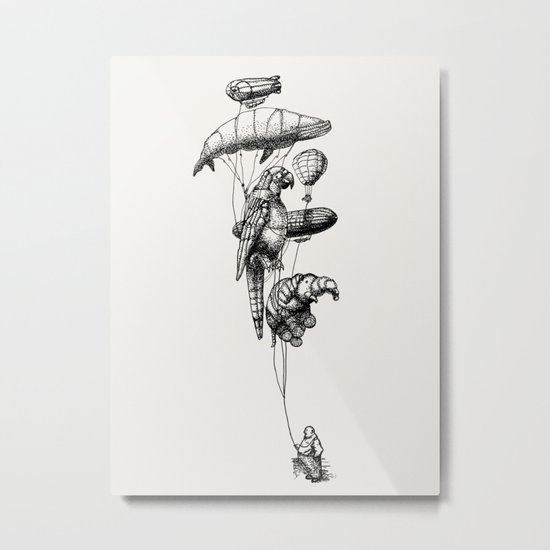 The Helium Menagerie Metal Print