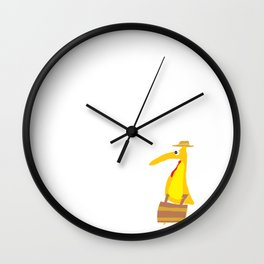Busy Bird Wall Clock