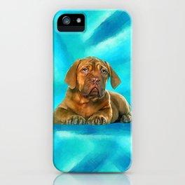 Dogue de Bordeaux iPhone Case