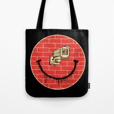 SMILE BIG BROTHER IS WATCHING Tote Bag