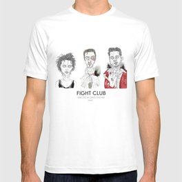 The First rule is - Triptych T-shirt