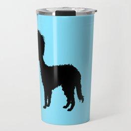 Lurcher girl Travel Mug