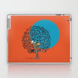 Cats under the blue moon Laptop & iPad Skin