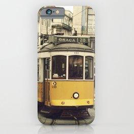 Tram numero 28 iPhone Case