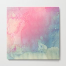 Rose and Serenity Metal Print