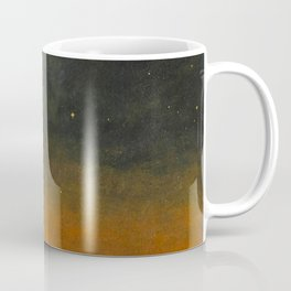 Smyth - The Great Comet of 1843 Sunset Magical Stars Coffee Mug