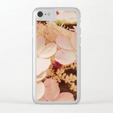 Hydrangeas 7 Clear iPhone Case