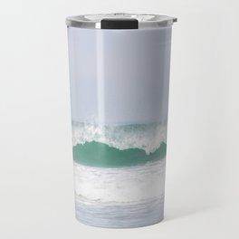 sea waves Travel Mug