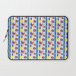 Summertime Seaside Happy Days Colorful Pattern Laptop Sleeve