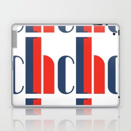 Bauhaus Joschmi Xants Repetition Font Art Laptop & iPad Skin