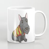 rasta Mugs featuring Rasta Scottie by Lisidza's art