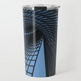 ''Metall grid'' digital painting by Diana Grigoryeva Travel Mug