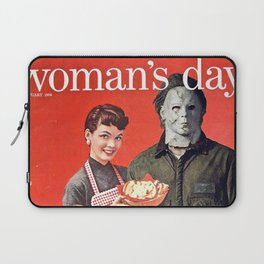 Michael Myers as Good Father Laptop Sleeve