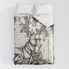 Lovers in the ruins Comforters