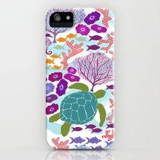Rush Hour at the Reef - Ocean Life - Sea Life - Marine - beach  Slim Case iPhone (5, 5s)
