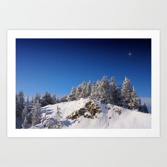 The Christmas Star Art Print