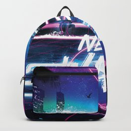 Synthwave: Neon Wave Backpack