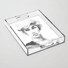 Attitude Acrylic Tray