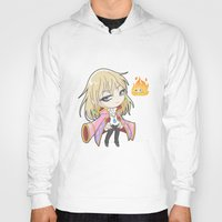 chibi Hoodies featuring Chibi Howl by Warbunny