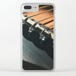 This Old Guitar pt.3 Clear iPhone Case