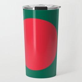 Bangladeshi Flag, High Quality image Travel Mug