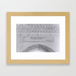 Shankar Acharya Framed Art Print