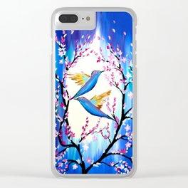 Cherry Blossom Saga Clear iPhone Case