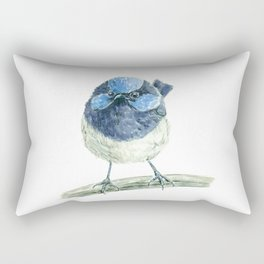 Fairy wren bird Rectangular Pillow