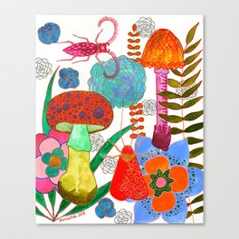 Foraging For Your Heart Canvas Print