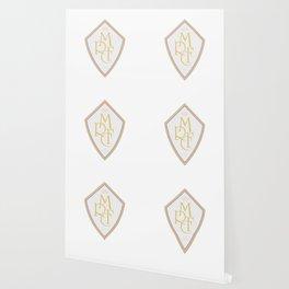 Madrid Blanco Badge Wallpaper