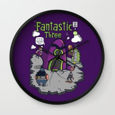 Fantastic Three Wall Clock