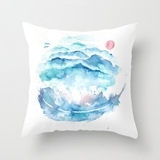 As If the World I Carry Could Crush Me Throw Pillow