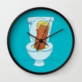 Donald Dump Wall Clock