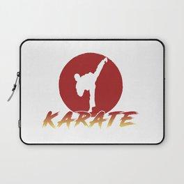 Karate Fighting Present Gift Self Defense Laptop Sleeve