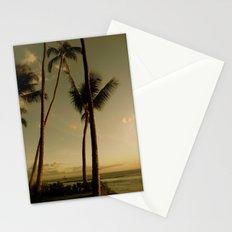 Barcos de Maui Stationery Cards