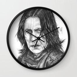 Snape Portrait Wall Clock