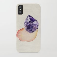 Amethyst Splash Slim Case iPhone X