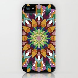 Mandala Returning iPhone Case