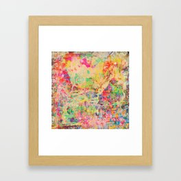 City Heart Framed Art Print
