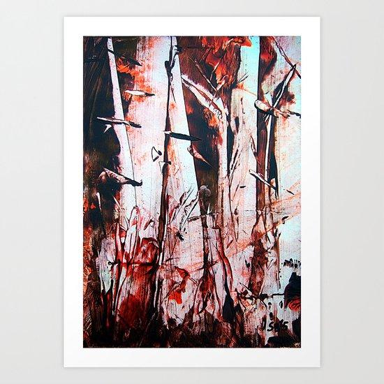 PineForest Art Print