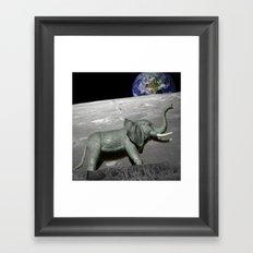 Lunaphant Framed Art Print