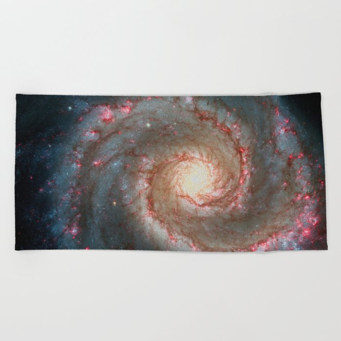 Space 06 Beach Towel