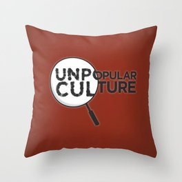 """""""Looking for Answers"""" Unpopular Culture Throw Pillow"""