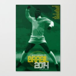 World Cup: Brazil 2014 Canvas Print